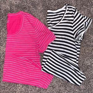 Womans Stripe T-shirt Bundle SZ.XL